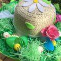 girl's bonnet hat for easter