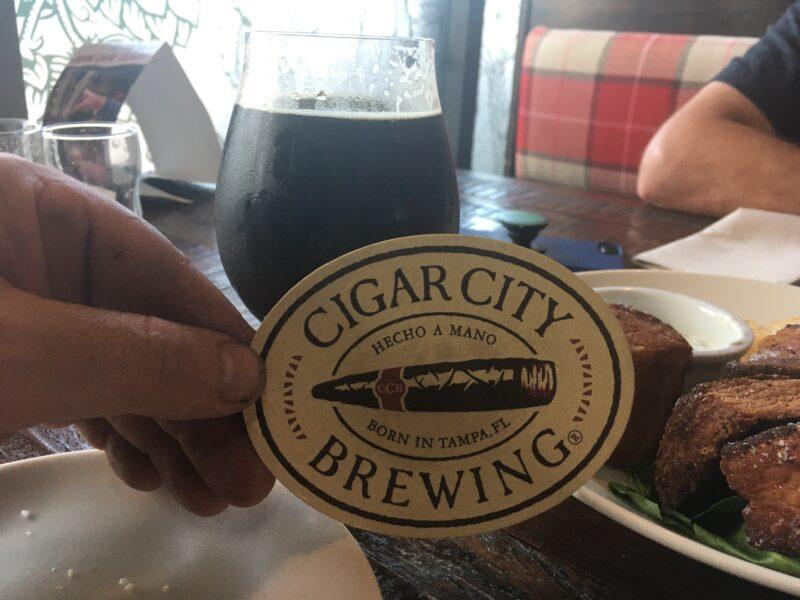タンパにあるビール醸造所レストラン